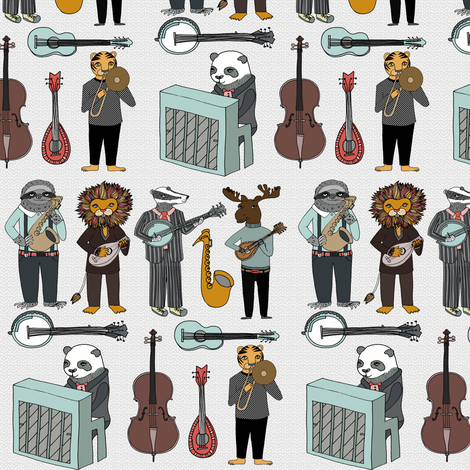 ABC Animal Band (smaller version) by Andrea Lauren