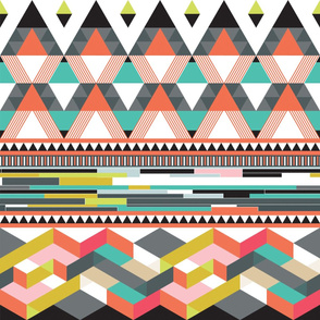 Geometric_Fusion_wallpaper_orange