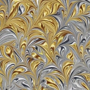 Metallic-SilverGold-Swirl
