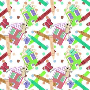 Crayon Crafts and Polka Dots -ver 2