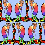 Kokopelli, Coral Snake Variation