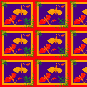 Purple Dragons block