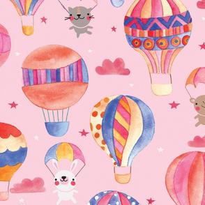 Balloons and parachutes