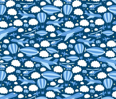Fantastic Flying Machines (Blue)
