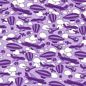 Busy Skies (Purple)