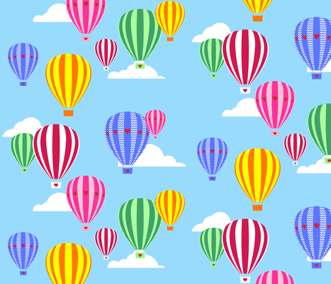 Love Is In The Air - Hot Air Balloons