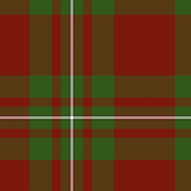 MacGregor tartan - traditional colors