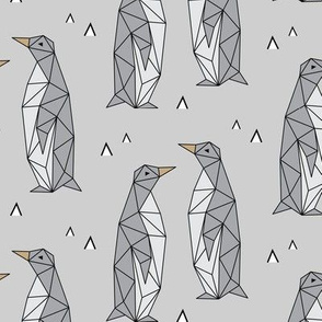 Geometric Penguins Gray