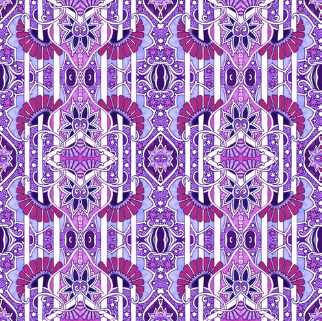 Cosmic purple universe wallpaper edsel2084 spoonflower for Cosmic print fabric