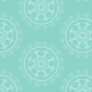 mod baby » suzani mint on mint