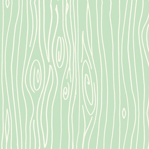Wonky Woodgrain - Mint