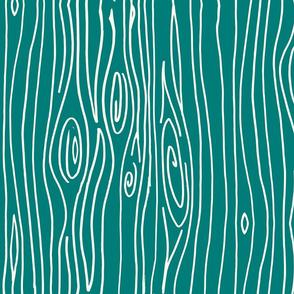 Wonky Woodgrain - Ultramarine