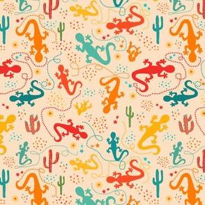 Baby Lizards Print