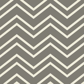 chevron no2 2x's grey + off white