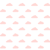 mod baby » tiny clouds coral light