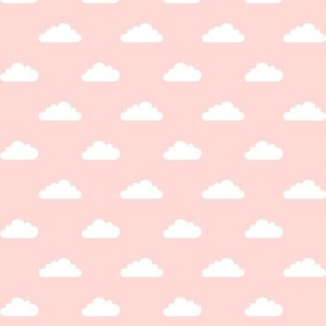 mod baby » tiny clouds on coral light