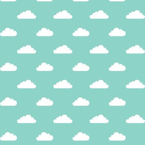 mod baby » tiny clouds on mint