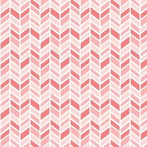 mod baby » herringbone coral