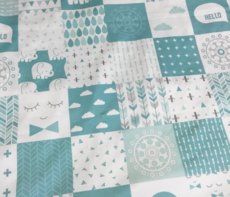 mod baby » bunting mint