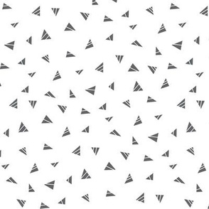 mod baby » tiny triangles grey