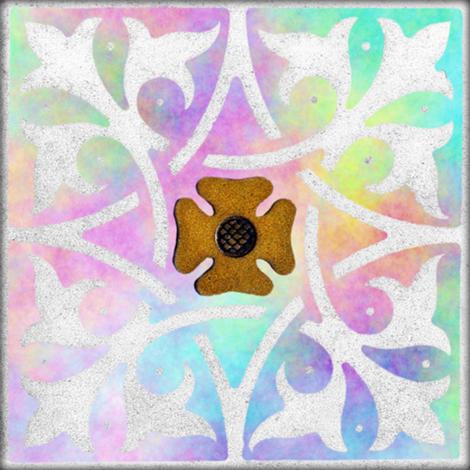 Medieval Tile ~ Opalescent