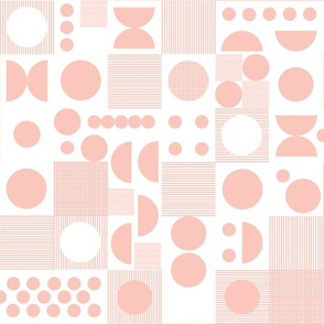 Dots - Pale Pink by Andrea Lauren