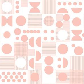 Dots - Pale Pink by Andrea Lauren