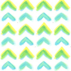 Watercolor Chevrons