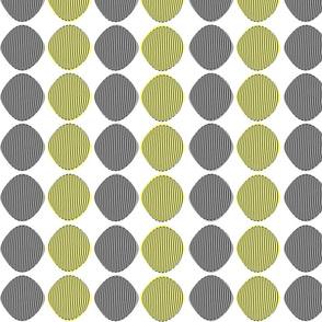 Mid-Century Modern Ovals Pattern