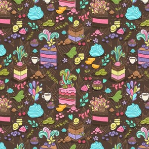 cakes pattern