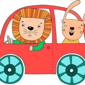 animal car