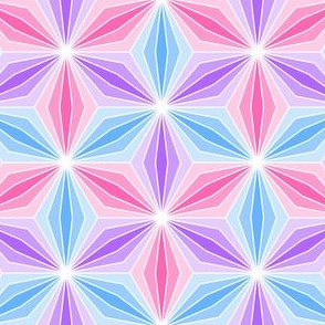 trombus pod 3 - pink, mauve, blue