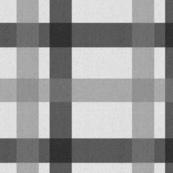 Larger - Retro Plaid Light Grey