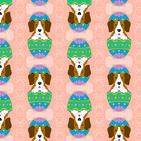 Easter Beagle (peach)