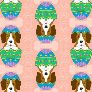 Easter Beagle (peach)