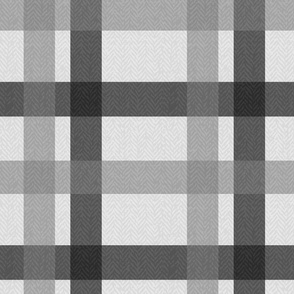 Retro Plaid Light Grey