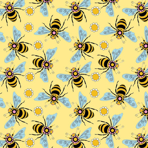 bee yourself in yellow