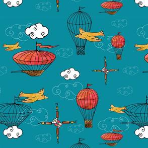 Birds & Balloons