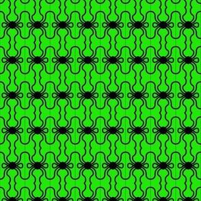 Beads Black Green