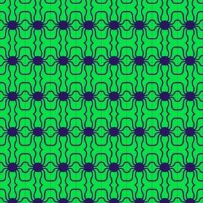 Beads Navy Green