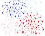 Fireworks-red-blue-vector-colorful-honor-independence-white-background-41622123_thumb
