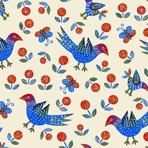 Red/BlueBird