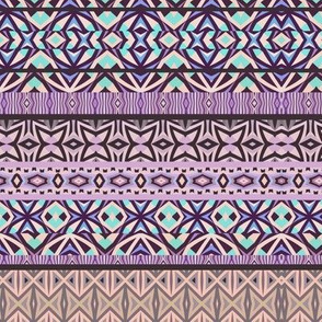 Tribal Pattern - Purple