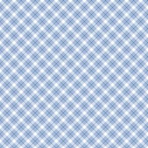 Tartan Pattern Blue Colours