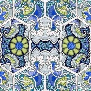 Blue Meadow Blooms