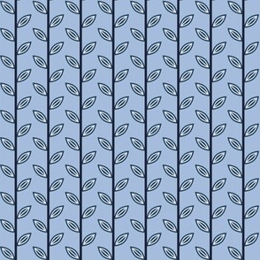 Leaves 02 Blue Colours