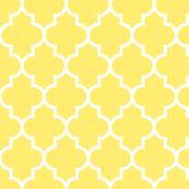quatrefoil LG yellow