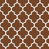 quatrefoil LG chocolate