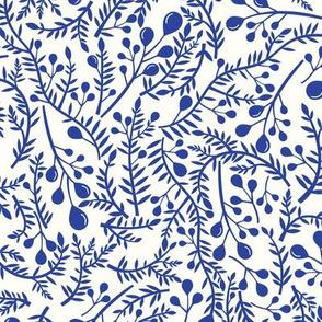 Vines in Blue