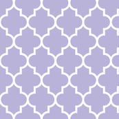 quatrefoil LG light purple